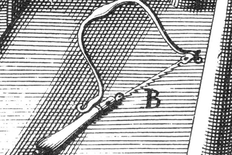 The first picture of a coping saw