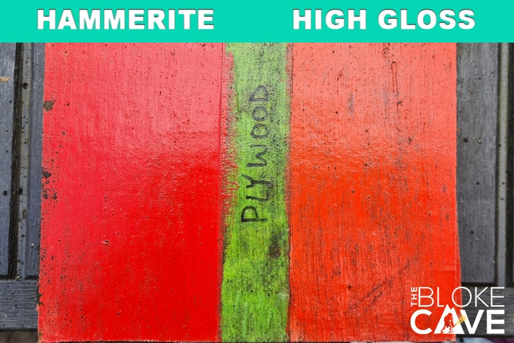 hammerite on plywood 6 months primer