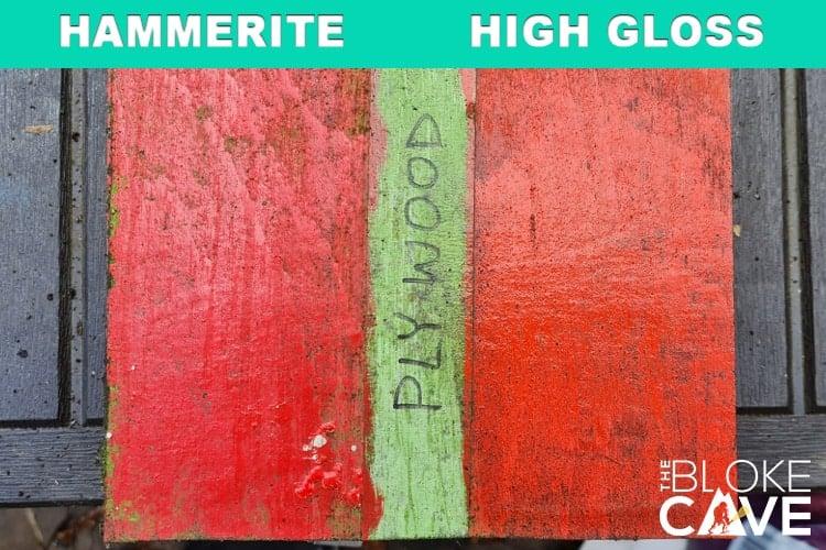 hammerite on plywood no primer 6 months