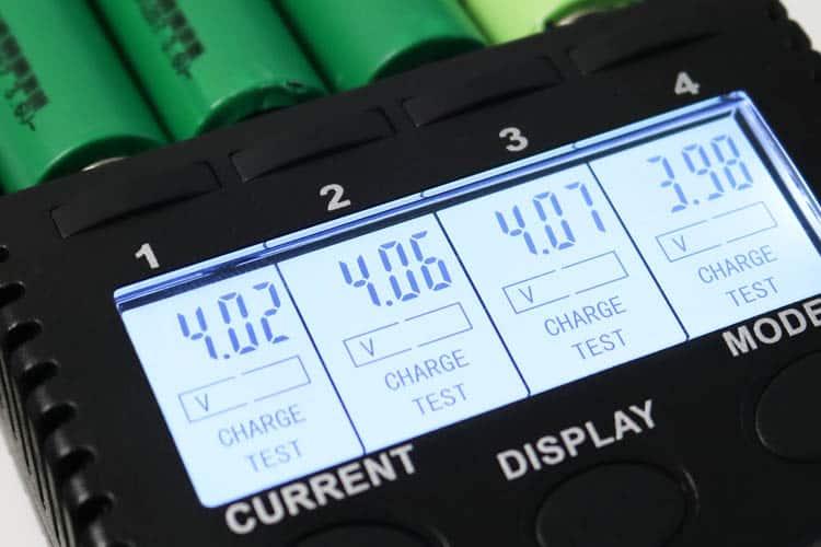 Youshiko yc5000 18650 battery tester