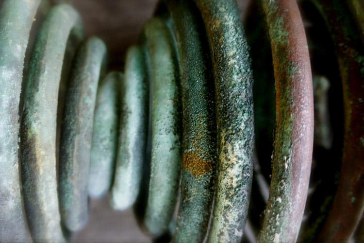 Corroded Copper