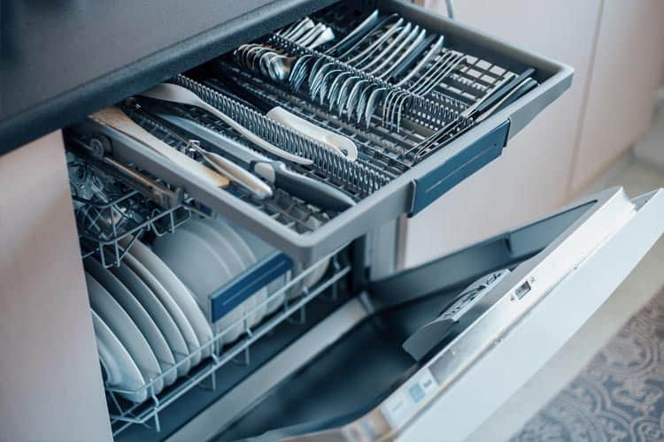 How to connect dishwasher and washing machine to one waste pipe