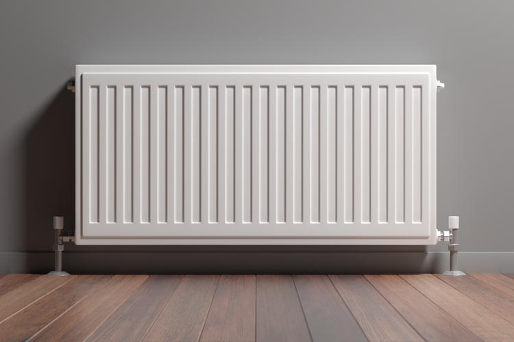 Can you paint radiators with satinwood?