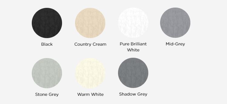 Ronseal Masonry Paint Colour Chart