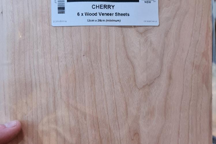 Cherry veneer sheets