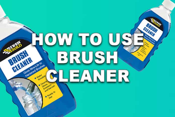 How to use paint brush cleaner