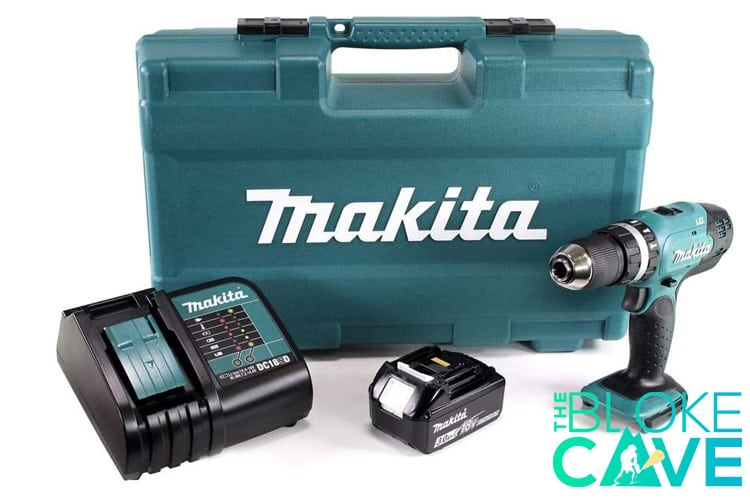 Makita Drill, Battery, Charger and Case