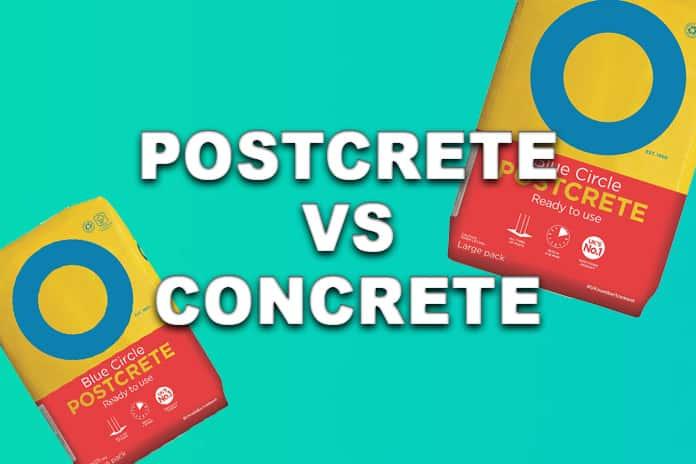 Postcrete vs Concrete