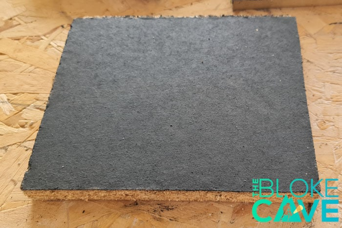 Chipboard Painted With Blackboard Paint