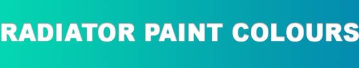 Hammerite radiator paint colours banner
