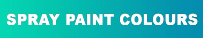 Hammerite Spray paint Colours Banner