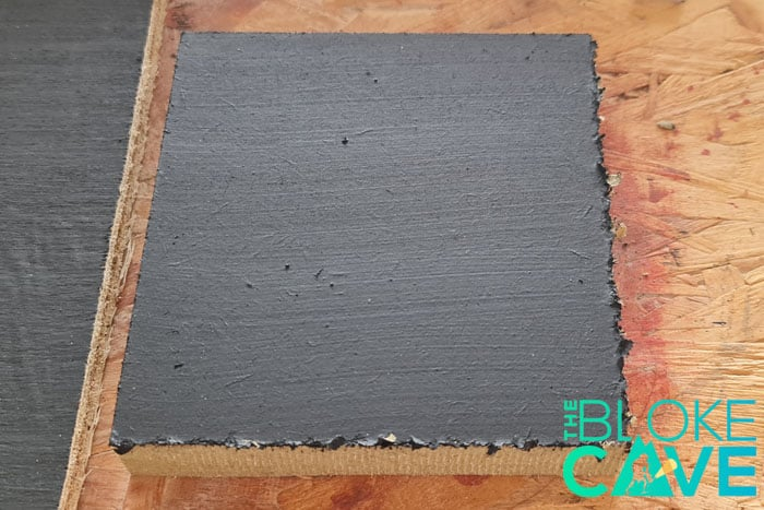 MDF Painted With blackboard paint