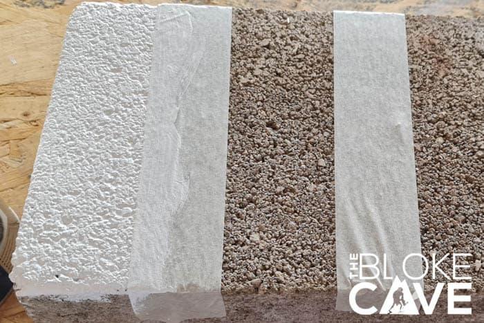 Painting Zinsser Allcoat on Concrete