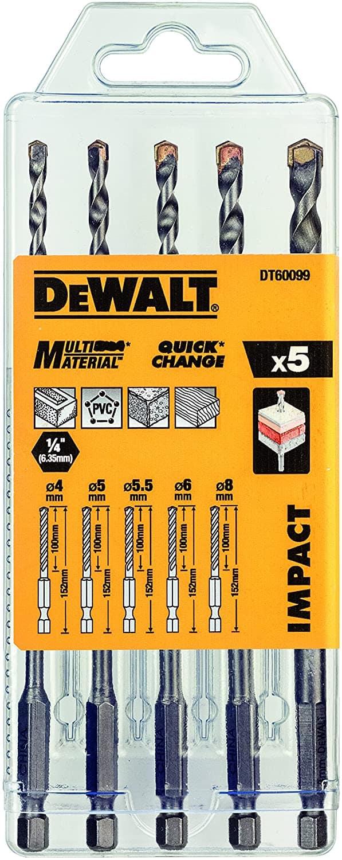 Dewalt Multi Material Impact Drill Bits