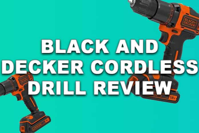 Black and Decker Cordless Combi Drill Review