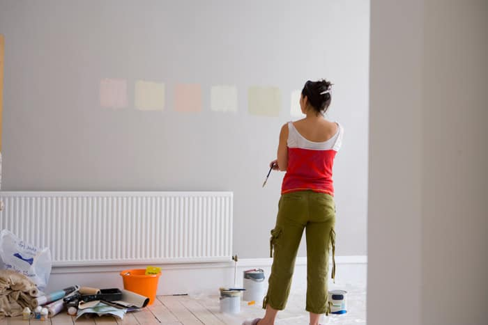 Choosing the perfect wall colour