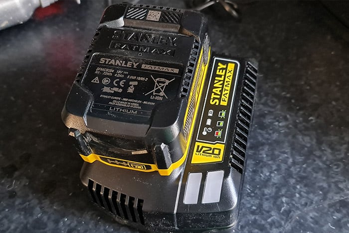 Fatmax Battery and Charger