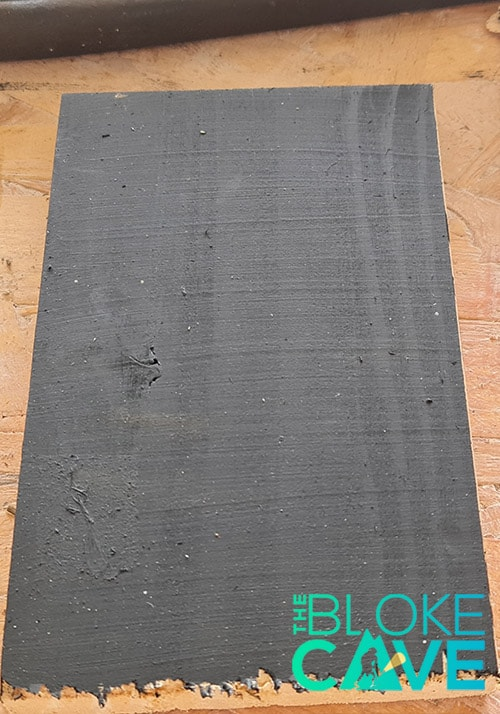 Pine Painted With Blackboard Paint