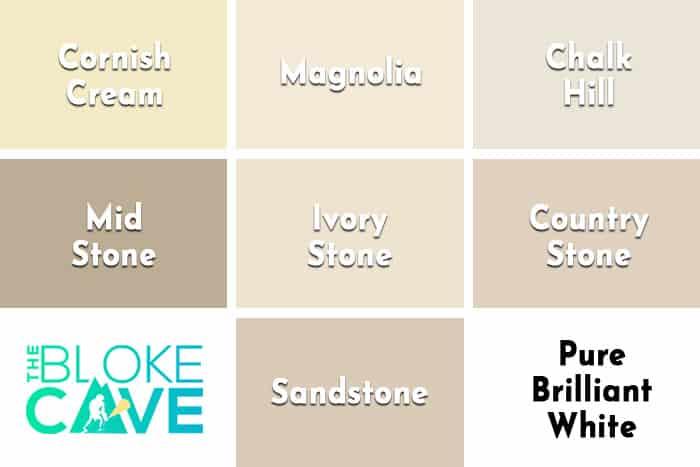 Sandtex Textured Colour Chart