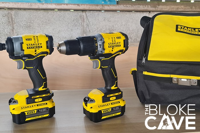 The Brushless Drill and Impact Driver