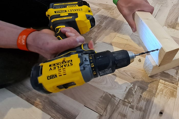 STANLEY FATMAX V20 Brushless Combi Drill With Battery, Charger & Case