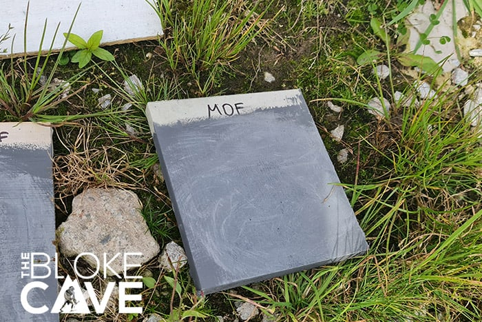 The MDF Sample Outside