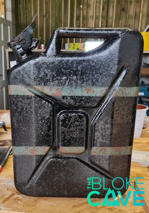 The Painted Jerry Can