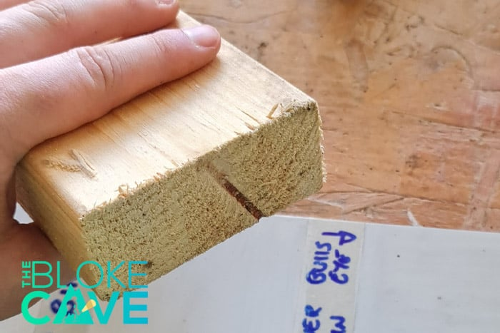 The Wood Block I Will Be Using For The Scratch Test