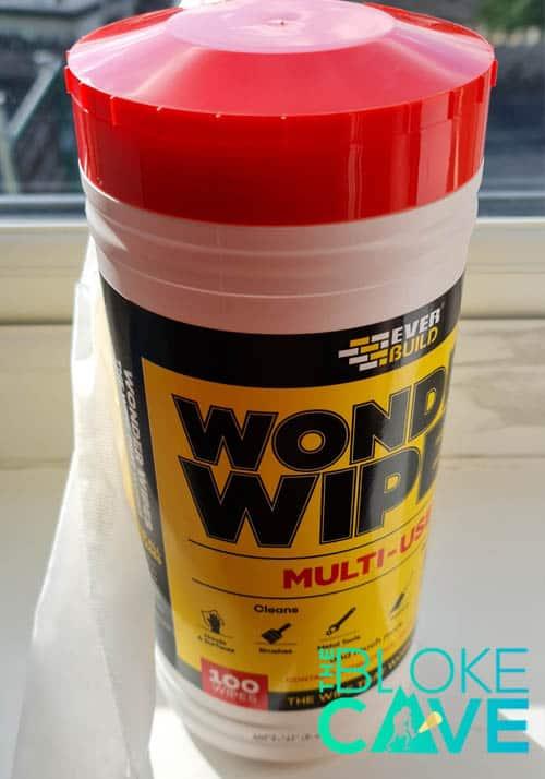 Wonder Wipes in their Dispenser