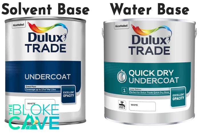 Water Based and Solvent Based Undercoat